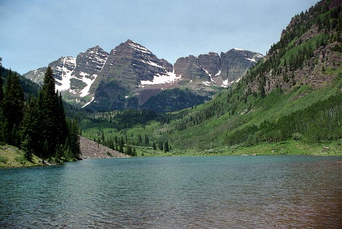 maroon bells lake at - photo #31